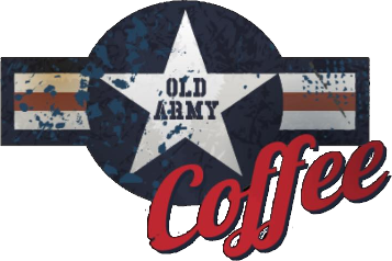 Old army Coffee Logo 50